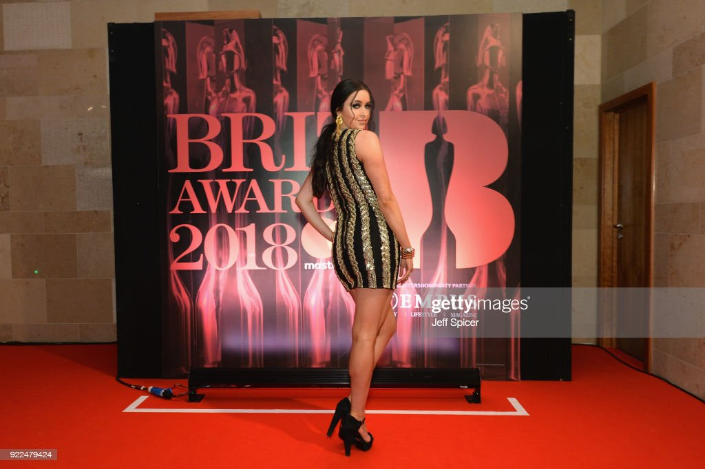 Emma Miller attends the BRITS official aftershow party, in partnership with Tempus Magazine, at the Intercontinental London - The O2 on February 21, 2018 in London, England