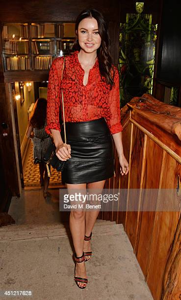 Emma Miller attends the grand opening of LIBRARY on June 25 2014 in London England