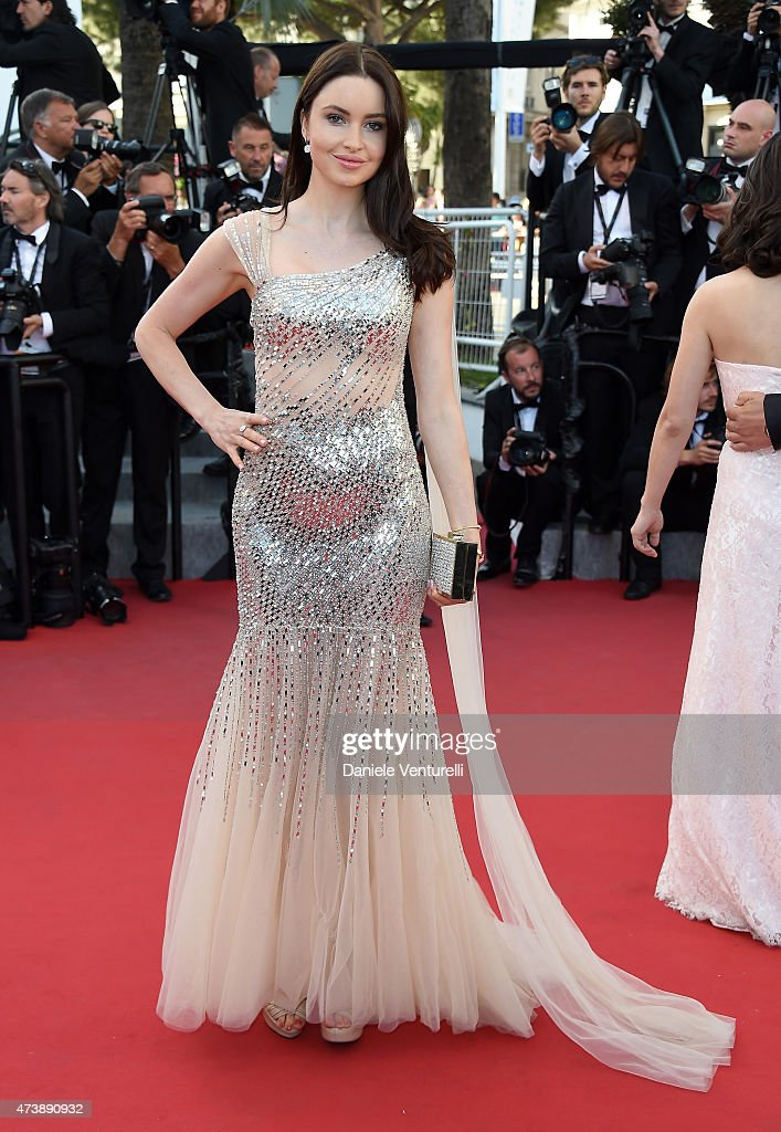 Emma Miller attends the 'Inside Out' Premiere during the 68th annual Cannes Film Festival on May 18, 2015 in Cannes, France.