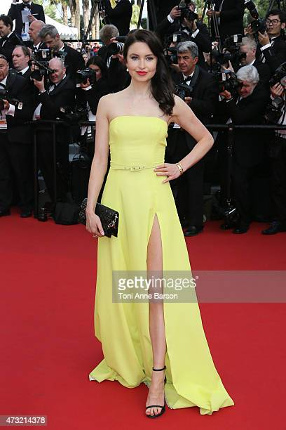 Emma Miller attends the opening ceremony and 'La Tete Haute' premiere during the 68th annual Cannes Film Festival on May 13 2015 in Cannes France