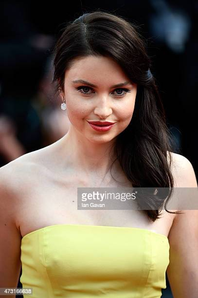 Emma Miller attends the opening ceremony and premiere of 'La Tete Haute' during the 68th annual Cannes Film Festival on May 13 2015 in Cannes France