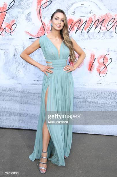 Emma Miller attends The Serpentine Summer Party at The Serpentine Gallery on June 19 2018 in London England