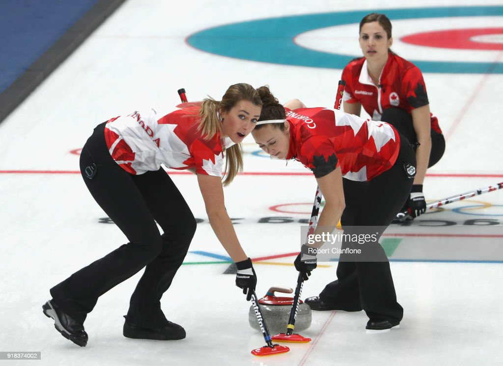 Curling - Winter Olympics Day 6