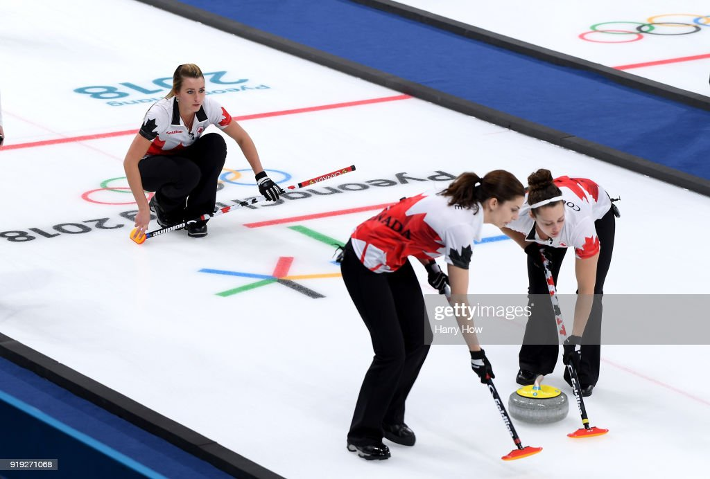 Curling - Winter Olympics Day 8