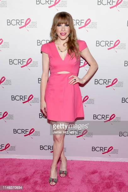 Emma Myles attends the Hot Pink Party hosted by the Breast Cancer Research Foundation at Park Avenue Armory on May 15 2019 in New York City