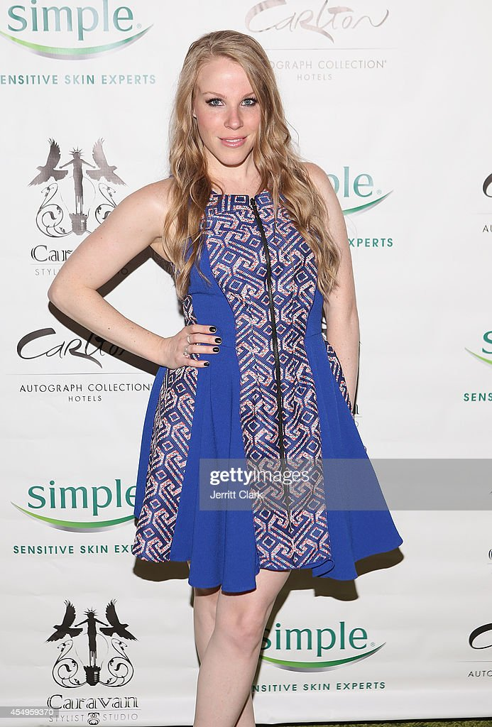 Emma Myles attends the Simple Skincare & Caravan Stylist Studio Fashion Week Event on September 7, 2014 in New York City.