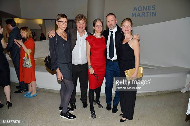 Emma Paaer Sam Huber Cordelia Lawton Patrick Mull and Eve Bailey attend the Works Process Rotunda Projects Gala at the Guggenheim at Guggenheim...