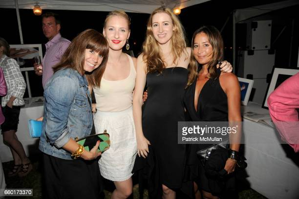Emma Paton Lisa Salzer Alexis Bryan Morgan and Tracy Taylor attend ACRIA's Annual Cocktails at Sunset Presented by Calvin Klein Collection Vanity...