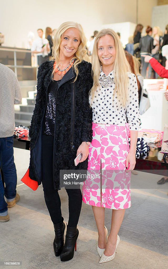 Emma Pilkington and Martha Ward attend private event to celebrate J.Crew And Central Saint Martins partnership at J.Crew on May 22, 2013 in London, England.
