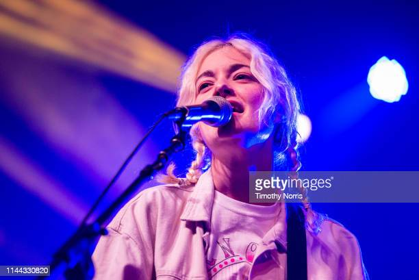 Emma Proulx of Men I Trust performs during the 2019 Coachella Valley Music And Arts Festival on April 21 2019 in Indio California