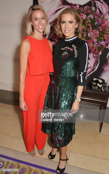 Emma Redgate and Nicki Shields attend the GQ Car Awards 2018 in association with Michelin at Corinthia London on February 5 2018 in London England