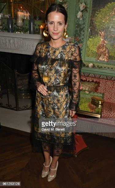 Emma Reeve attends the Annabel's x Dior dinner on May 21 2018 in London England
