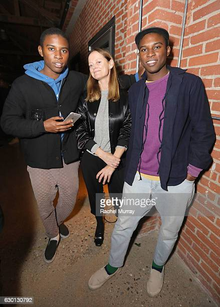 Emma Reeves attends MOCA's Leadership Circle and Members' Opening dinner party for 'Rick Owens Furniture' on December 16 2016 in Los Angeles...