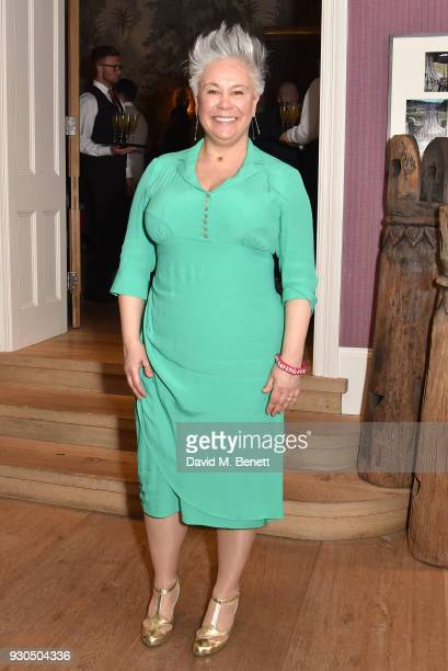 Emma Rice attends the press matinee after party for Brief Encounter at The Haymarket Hotel on March 11 2018 in London England