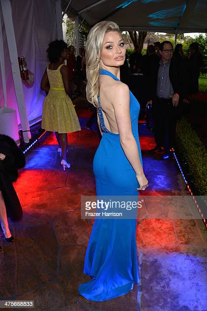 Emma Rigby attends the 2014 GREAT British Oscar Reception at British Consul General's Residence on February 28 2014 in Los Angeles California