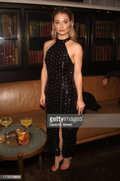 Emma Rigby attends The Evening Standard Frieze Party at The Arts Club on October 2 2019 in London England