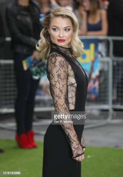 Emma Rigby attends The Festival world premiere at Cineworld Leicester Square on August 13 2018 in London England