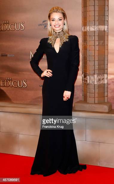 Emma Rigby attends 'The Physician' German Premiere on December 16 2013 in Berlin Germany