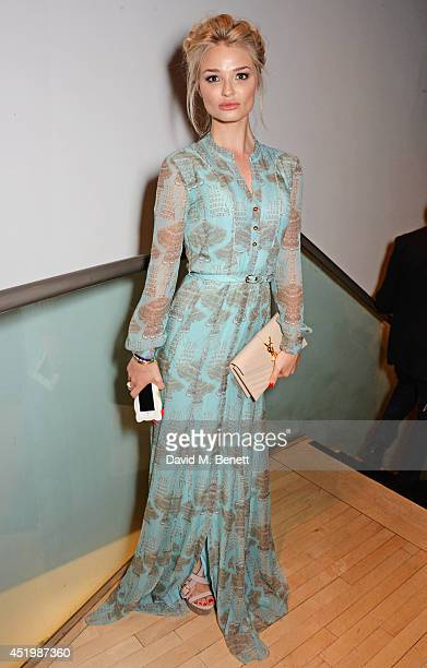 Emma Rigby attends the press night performance of Brasil Brasileiro at Sadler's Wells Theatre on July 10 2014 in London England