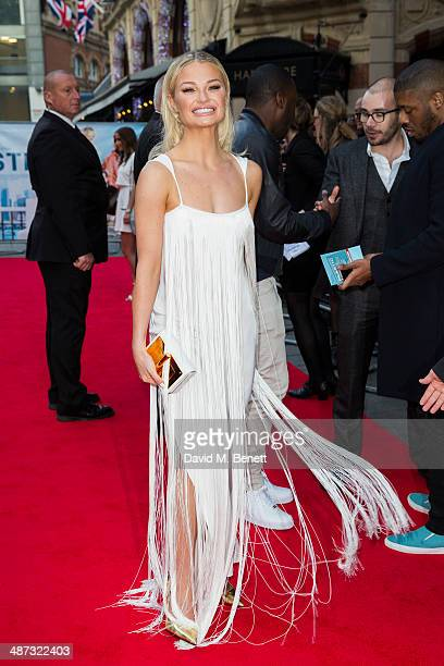 Emma Rigby attends the UK Premiere of Plastic at the Odeon West End on April 29 2014 in London England