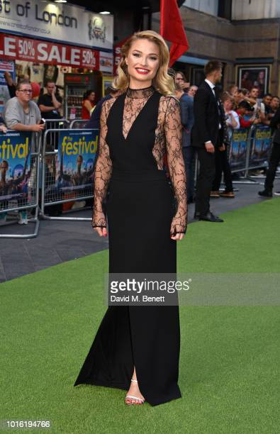 Emma Rigby attends the World Premiere of The Festival at Cineworld Leicester Square on August 13 2018 in London England