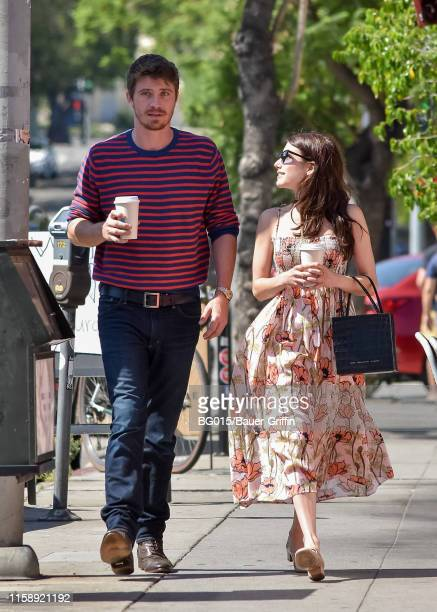 Emma Roberts and Garrett Hedlund are seen on July 31 2019 in Los Angeles California