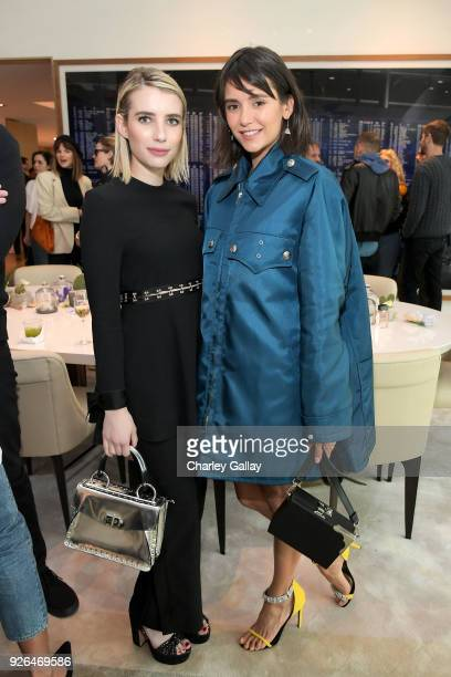 Emma Roberts and Nina Dobrev attend Vanity Fair and Fashion Designers Jack McCollough and Lazaro Hernandez Celebrate the Launch of Proenza Schouler's...