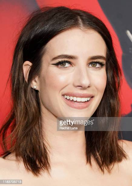 Emma Roberts attends FX's American Horror Story 100th Episode Celebration at Hollywood Forever on October 26 2019 in Hollywood California