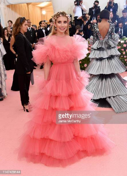 Emma Roberts attends The 2019 Met Gala Celebrating Camp Notes on Fashion at Metropolitan Museum of Art on May 06 2019 in New York City