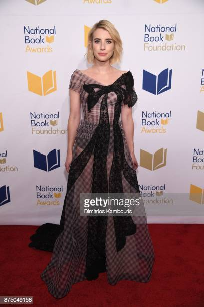Emma Roberts attends the 68th National Book Awards at Cipriani Wall Street on November 15 2017 in New York City