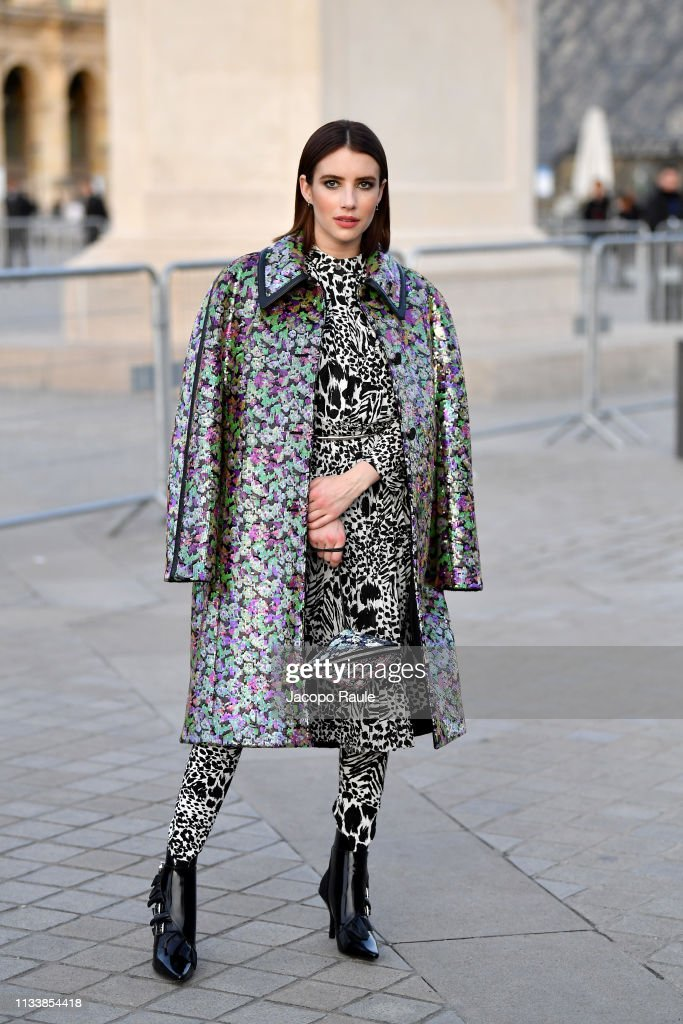 Louis Vuitton : Outside Arrivals - Paris Fashion Week Womenswear Fall/Winter 2019/2020 : News Photo