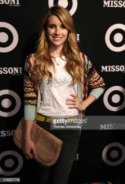 Emma Roberts attends the Missoni for Target Private Launch Event on September 7 2011 in New York City