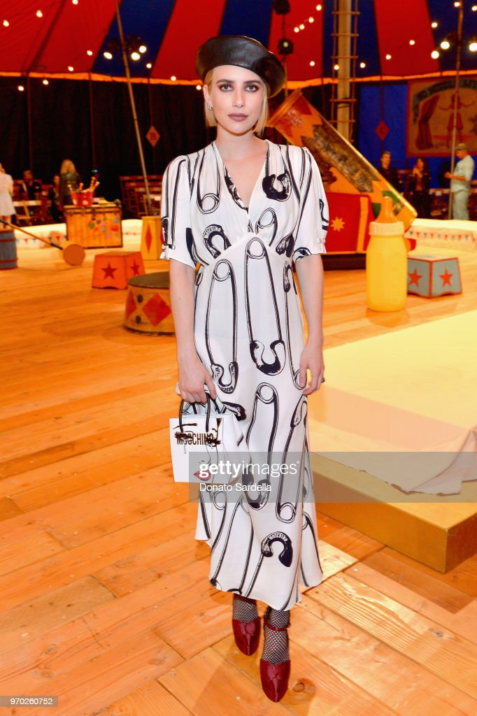 Moschino Spring/Summer 19 Menswear And Women's Resort Collection - Front Row : News Photo