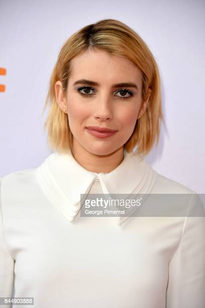 Emma Roberts attends the 'Who We Are Now' premiere during the 2017 Toronto International Film Festival at Ryerson Theatre on September 9 2017 in...