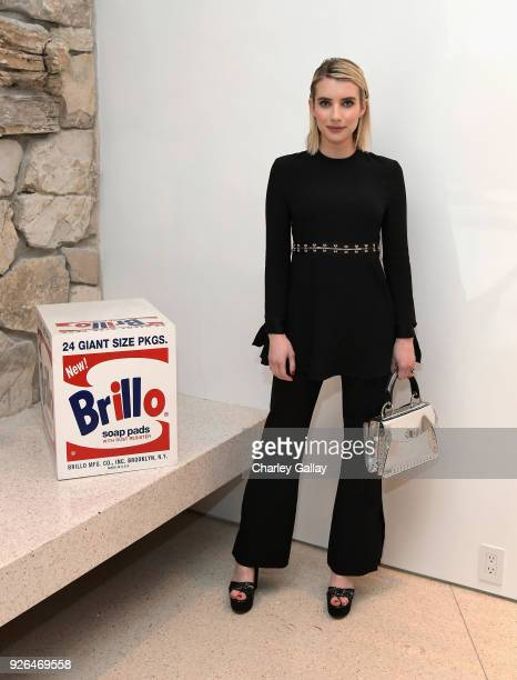 Emma Roberts attends Vanity Fair and Fashion Designers Jack McCollough and Lazaro Hernandez Celebrate the Launch of Proenza Schouler's First...