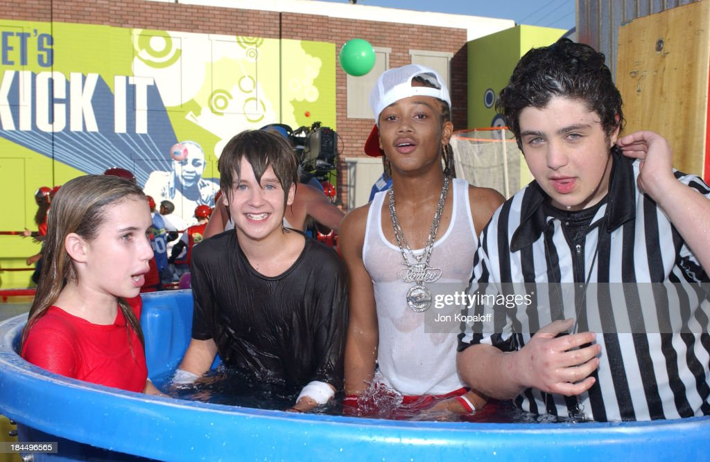 Emma Roberts Devon Werkheiser Lil Romeo And Josh Peck News Photo Getty Images