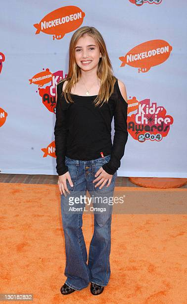 Emma Roberts during Nickelodeon's 17th Annual Kids' Choice Awards Arrivals at Pauley Pavillion in Westwood California United States