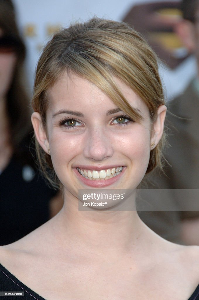 Emma Roberts during 'Superman Returns' Los Angeles Premiere - Arrivals at Mann Village and Bruin Theaters in Westwood, California, United States.