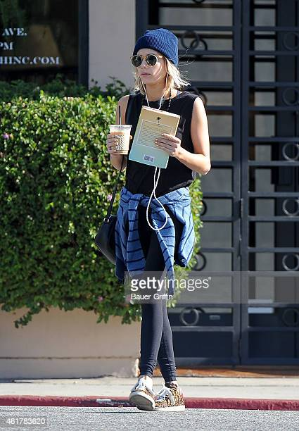 Emma Roberts is seen in Los Angeles on January 19 2015 in Los Angeles California