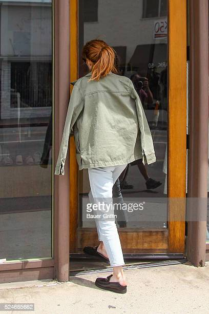 Emma Roberts is seen on April 26 2016 in Los Angeles California