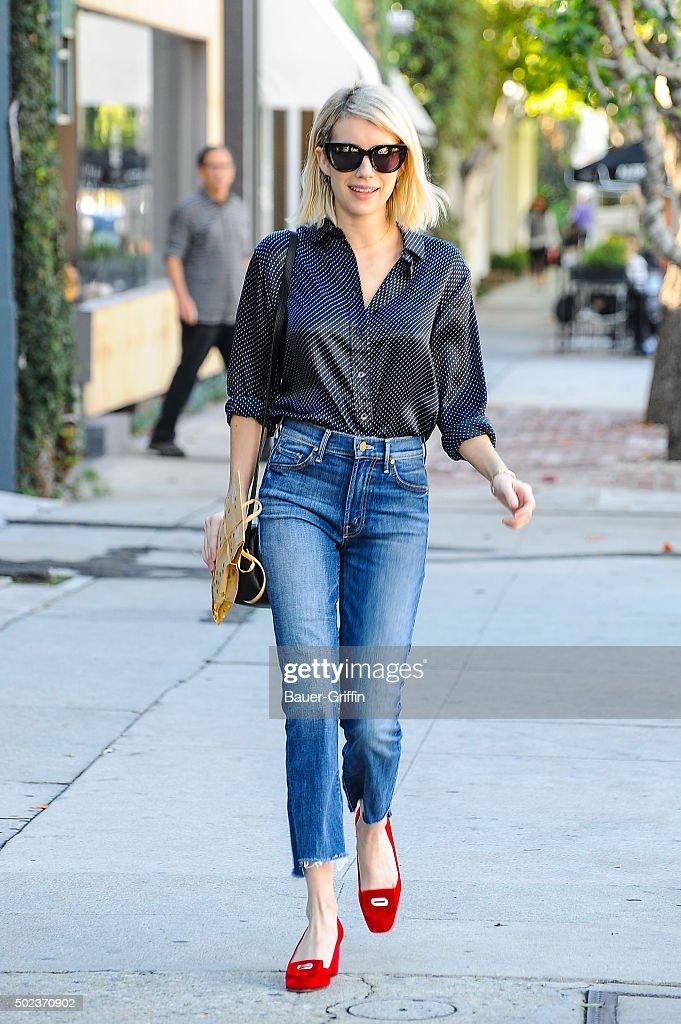 Celebrity Sightings In Los Angeles - December 23, 2015