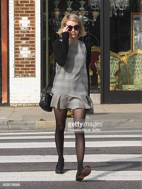 Emma Roberts is seen on January 14 2016 in Los Angeles California