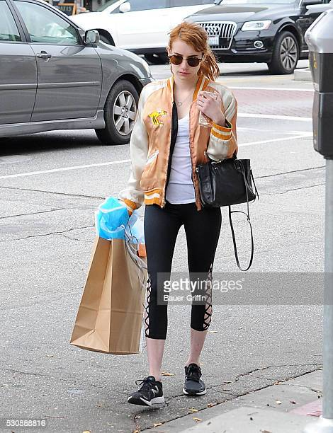 Emma Roberts is seen on May 11 2016 in Los Angeles California