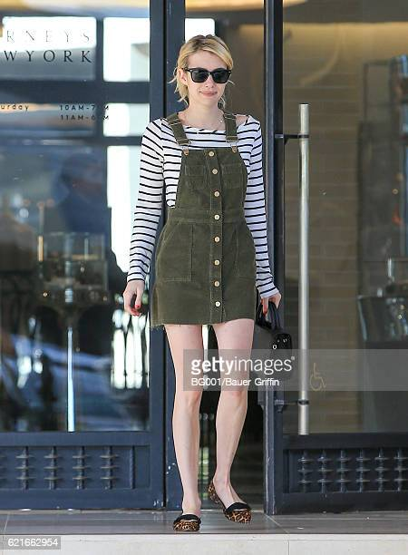 Emma Roberts is seen on November 07 2016 in Los Angeles California