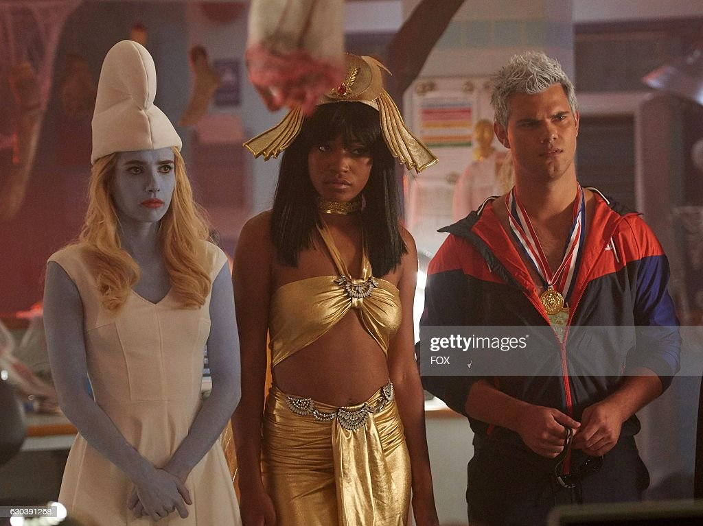 Emma Roberts Keke Palmer And Taylor Lautner In The All New Halloween News Photo Getty Images