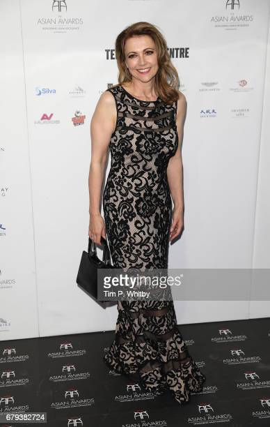 Emma Samms attends The Asian Awards at Hilton Park Lane on May 5 2017 in London England