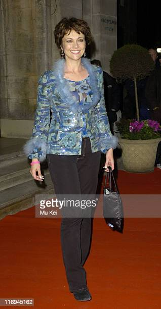 Emma Samms during 'In Her Shoes' London Premiere After Party at Grosvenor House Park Lane in London Great Britain