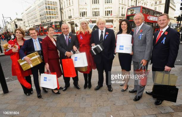 Emma Samms Starlight Foundation Andy Street MD of John Lewis Dame Judith Mayhew Jonas Chairman of the New West End Company Sir Philip Green a West...