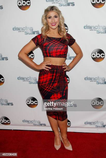 Emma Slater attends the 'Dancing With The Stars' wrap party at Sofitel Hotel on November 26, 2013 in Los Angeles, California.
