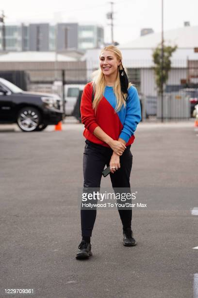 Emma Slater is seen on November 20 2020 in Los Angeles California